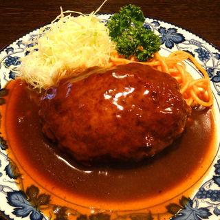 ハンバーグステーキ(重亭 (ジュウテイ))