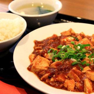 麻婆豆腐ランチ(ご飯、スープ付き)(重慶茶樓 CIAL桜木町店 (ジュウケイサロウ))