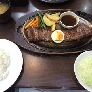 特テキハラミステーキ定食(金とき 本店 )
