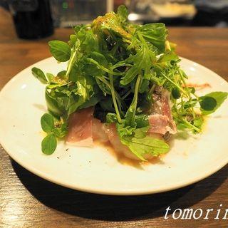 ボタン海老と生ハムのカルパッチョ(金剛商店138番地 )