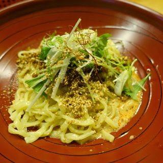 汁なし金胡麻担担麺(金蠍 (キンカツ))