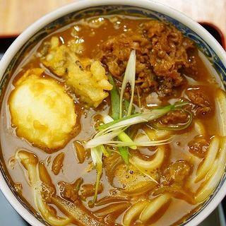 肉カレーうどん(釜たけ流うどん 駅前食堂 ヨドバシ梅田店 )