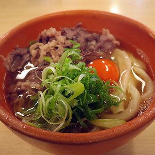 肉玉うどん(釜揚うどん一紀 )