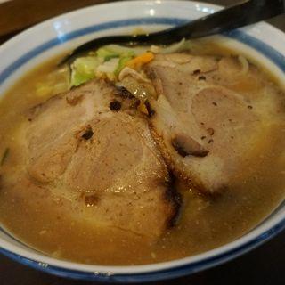 野菜味噌焼豚らーめん(鈴乃屋)