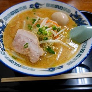 味玉味噌ラーメン (鈴木食堂 )