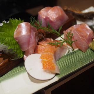 地きんめ鯛お造り4種類食べ比べ(サウガット (SAUGAT))