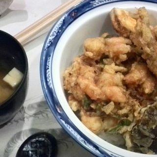 かき揚げ丼(銀座 天ぷら 阿部 )