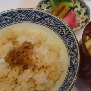 蛸の炊き込みご飯(銀座 志 (ココロ))