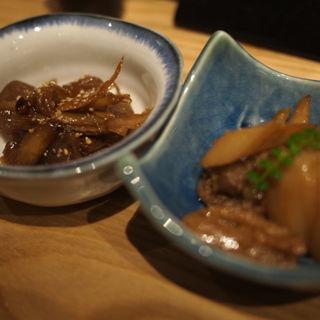 れんこん塩きんぴら(銀座魚勝 (GINZA UOKATSU))