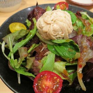 蒸し鶏サラダ(銀座鳥繁 (ぎんざとりしげ))
