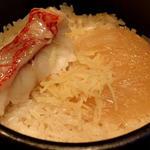 日本海 キンキとフカヒレ土鍋御飯
