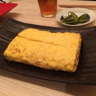 出し巻き卵(関 蕎麦とワイン)