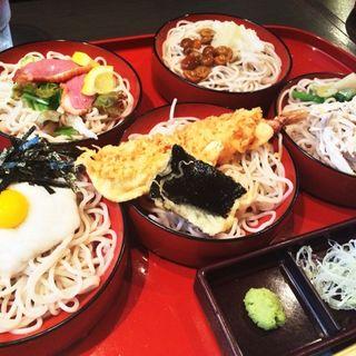 割子蕎麦セット(陣屋 花こよみ )