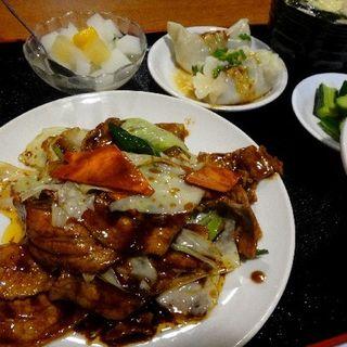 回鍋肉定食(陳四海)
