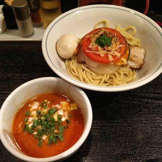 豆乳トマトつけ麺(雨ニモマケズ)