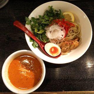 雨マケ式タイ風カレーつけ麺 ※限定(雨ニモマケズ)