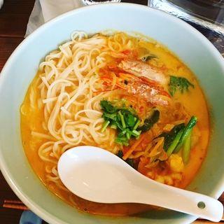 ココナッツエビカレーうどん(Curry&Spice青い鳥)