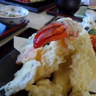伊勢海老天ぷら定食