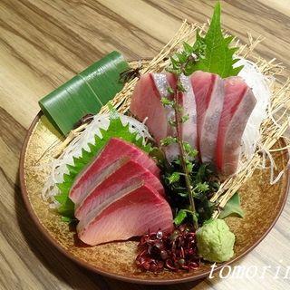 天然 鰤刺し(青木鮮魚店 (【旧店名】海鮮 炉ばた 炭菜坊))