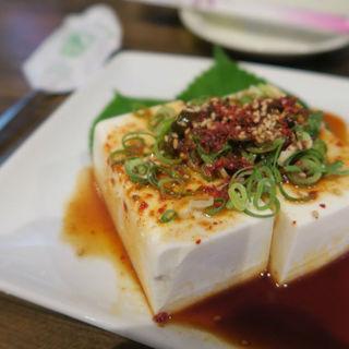 韓国冷奴(韓国食堂 NUNA (ヌナ))