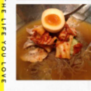 【元祖定番!】 こだわり冷麺(韓豚屋 銀座三丁目店 (ハンテジヤ))