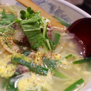コムタンラーメン(韓韓麺 千住店 (カンカンメン))