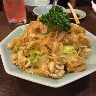 ミミガー入りサラダ(順香 (シュンシャン))
