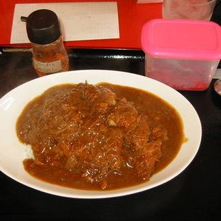 チキンカツカレー(食事処おざわ)