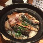 新生姜と若鶏とサンマの土鍋ごはん