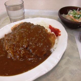 チキンカツカレー(食堂オアシス)
