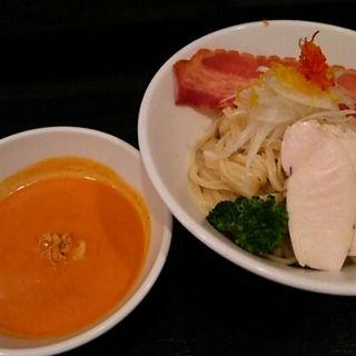 フレッシュトマトの冷製つけ麺(香味亭 (KOUMITEI))