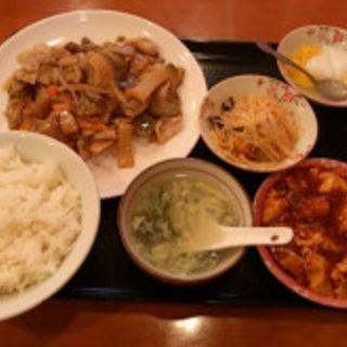 ザーサイの豚バラ炒め(香港厨房)