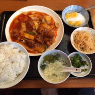 酢豚定食(香港厨房)