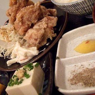 塩から揚げ定食(とり天 ルドゥー)