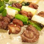 桜肉串焼き