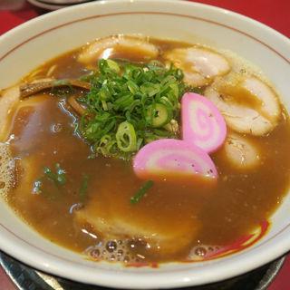 肉つみれ汁 (和風だしとネギで桜つみれを召し上がれ!)