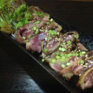 鶏肉のタタキ(駅前 万太郎 )