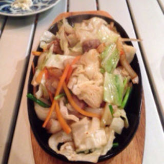 ホルモン炒め塩味(高砂游心 (たかさごゆうしん))