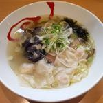シジミと三番瀬生海苔の雲呑麺