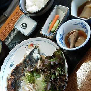 サワラオニオン焼定食