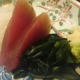 カツオのお刺身(魚丸食堂 )