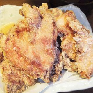 大山鶏もも肉の唐揚げ(魚問屋 魚政宗 青物横丁分店 )