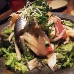 刺身のサラダ