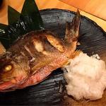 フエ鯛の塩焼き