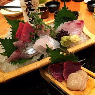 刺身盛り合わせ(魚治 (UOHARU))