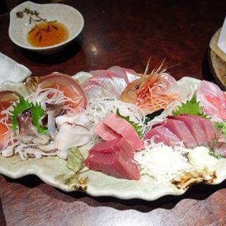 刺身盛り(魚浜)