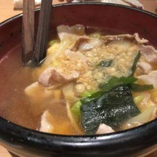 肉豆腐(魚然 銀座三丁目店 (ウオゼン))