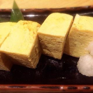 だし巻き玉子(魚真 銀座店 )