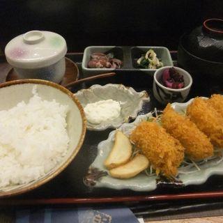 カキフライ定食(魚菜屋 幸太 )