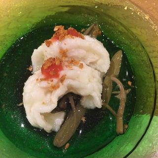 太刀魚の湯引き (鮨 かなさ )